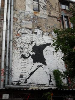 Molotov cocktail grafiti