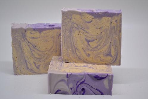 Lavender Oatmeal Bar