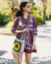 The Sunflower Boho Bag in the new issue