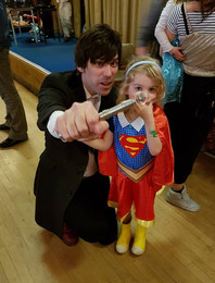 Dr Who and Supergirl