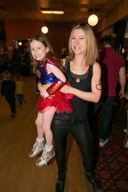 Supergirl and mother