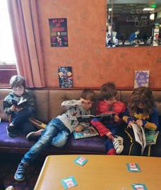 Comic Books in the Chillout Corner