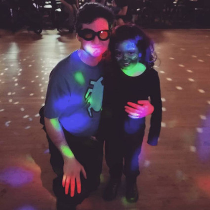 DJ Blue Beetle and Gamora