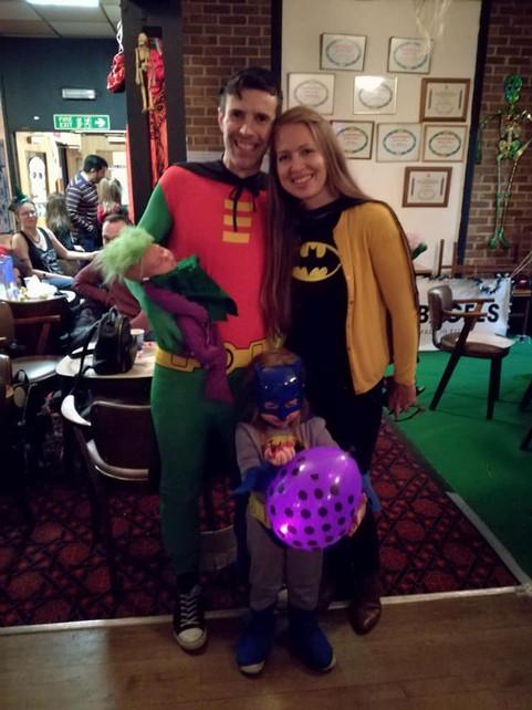 Baby Joker and family