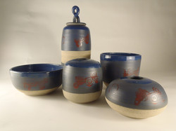 Stoneware set, 2014.