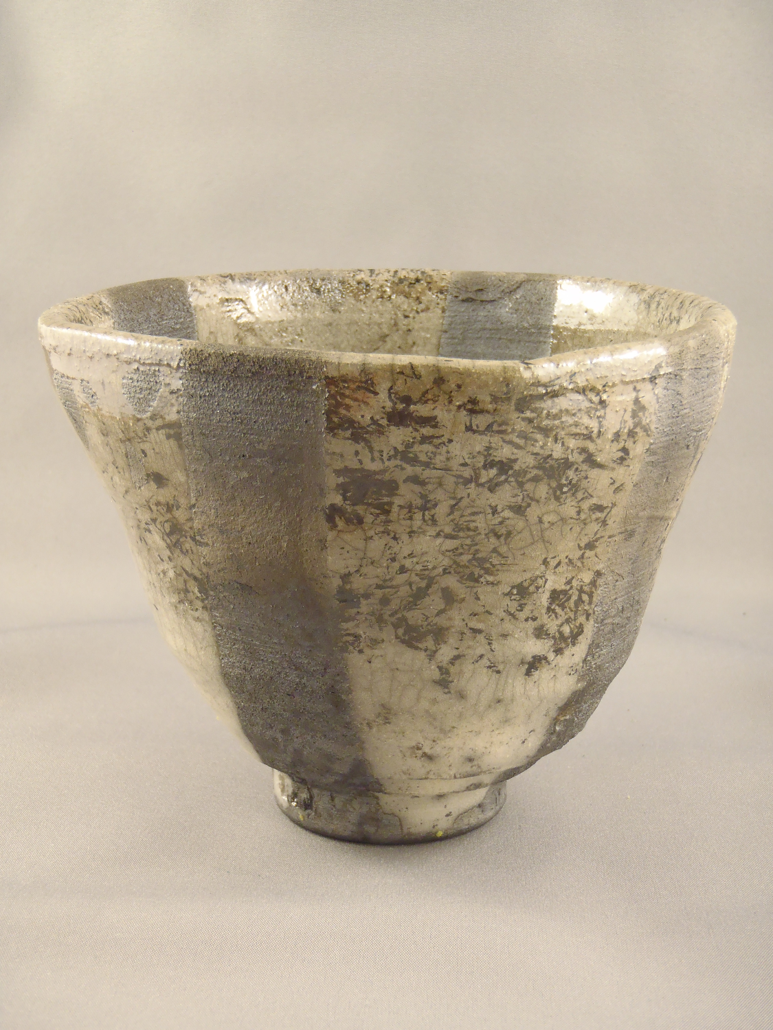 Raku cup (for Andres), 2014.