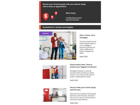 Newsletter: Scotiabank Advice+