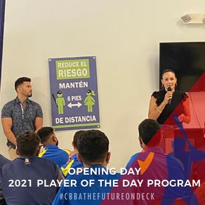 CBBA Starts 2021 Player of Day Program