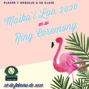 CBBA Ring Ceremony 2020