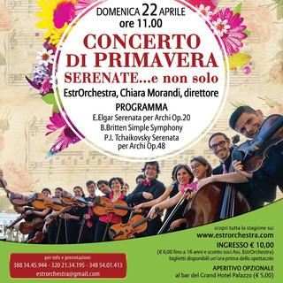 Locandina Concerto di Primavera 22 april