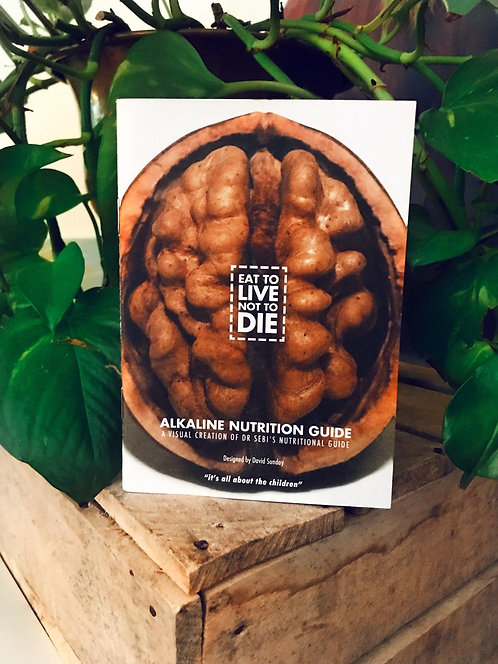 ALKALINE Pocket Nutrition Booklet