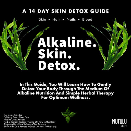 ALKALINE FULL BODY DETOX GUIDE
