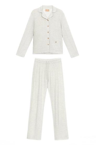Piżama damska classic merino wool