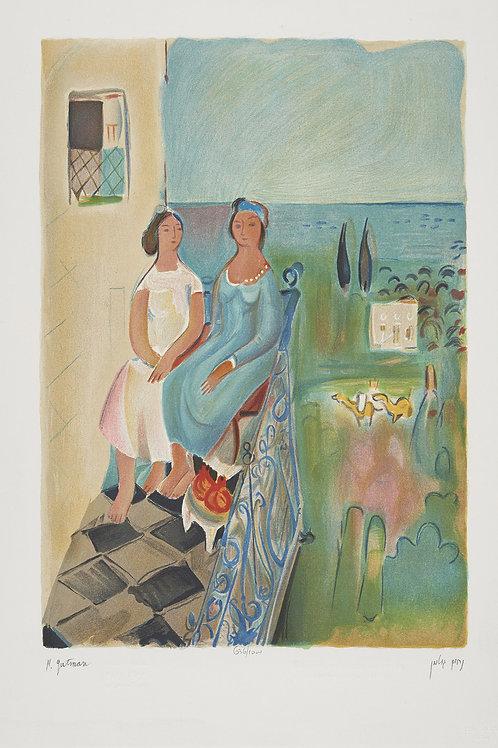 Women on the Balcony