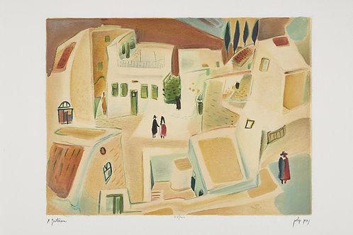 Square in Tsfat