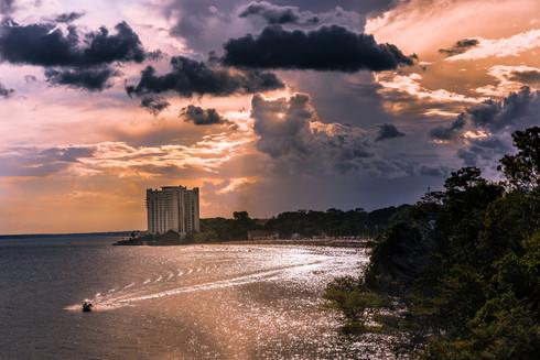 sunset-over-ponta-negra-river-beach-mana