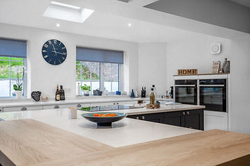 Kitchen installation at a property in Cardiff South Wales