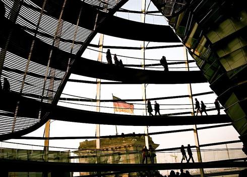 tourists-reichstag-building-german-flag-