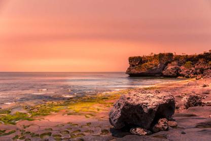 sunset-balangan-beach-cliff-landscape-ba