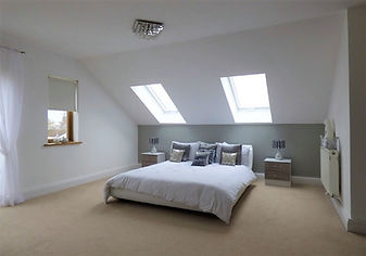 Loft conversion in a property in Cardiff, South Wales