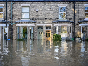 Insurance work undertaken to repair flood damage
