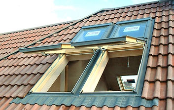 A velux loft conversion on a property in Cardiff