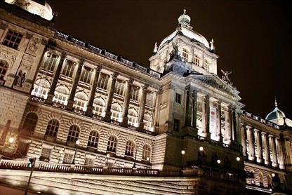 national-museum-night-prague-czech-repub