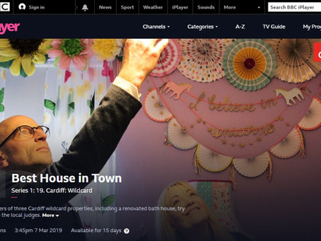 RGB Construction renovation features on BBC