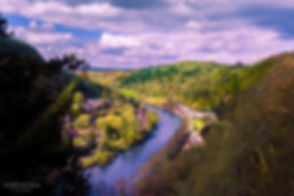 Landscape photograph of Symonds Yat in the Wye Valley of Wales, United Kingdom