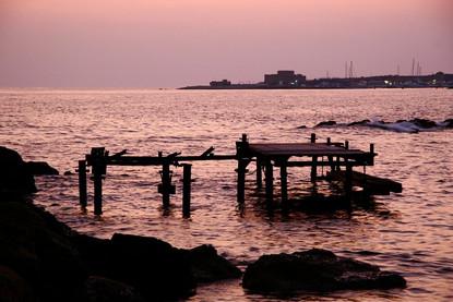 derelict-jetty-sunset-mediterranean-sea-