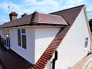 A domer loft conversion on a property in Cardiff