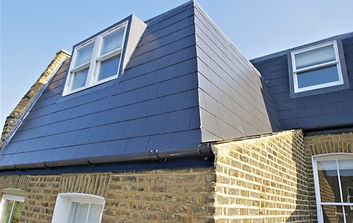 A mansard loft conversion on a property in Cardiff