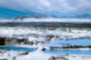 Landscape photograph of Þingvellir National Park, Iceland