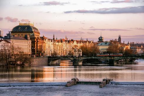 river-vltava-beautiful-sunset-prague-cze