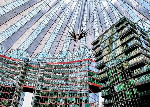 the-sony-center-interior-ceiling-berlin-
