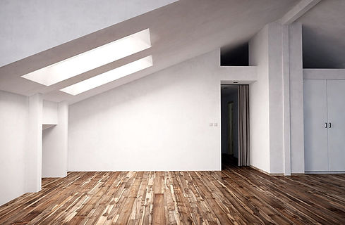 A loft conversion on a house in Cardiff