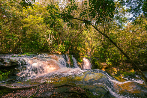 waterfall-presidente-figueiredo-sunset-r