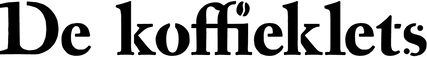 De Koffieklets Logo Zwart.png