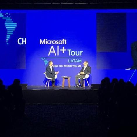 Microsoft Al+ Tour - 2018