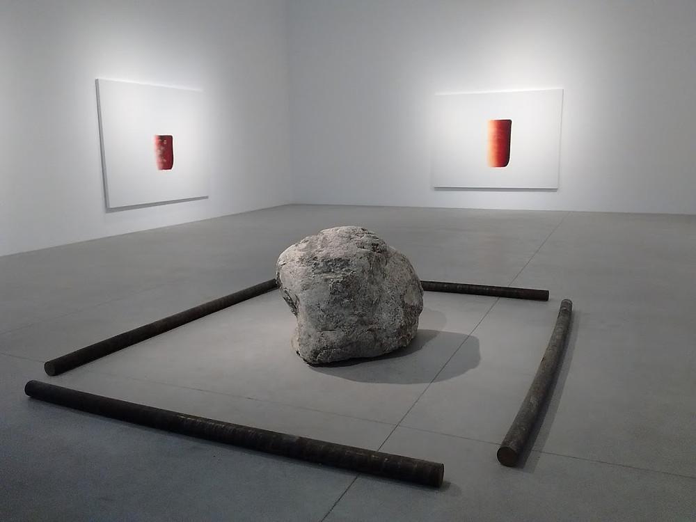 Exposition Lee Ufan, Château La Coste, été 2016.