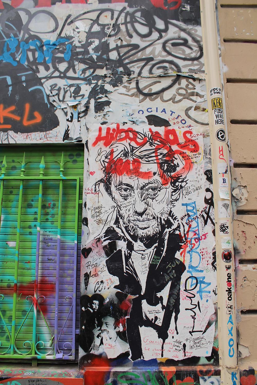 Maison Serge Gainsbourg Visite Intérieur sur la piste le mur gainsbourg au 5 bis rue de verneuil