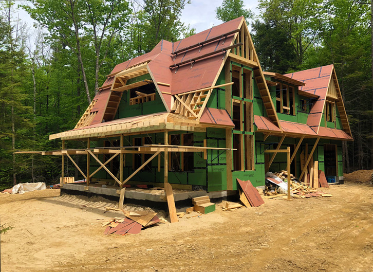 In Construction: Winnipesaukee Cottage