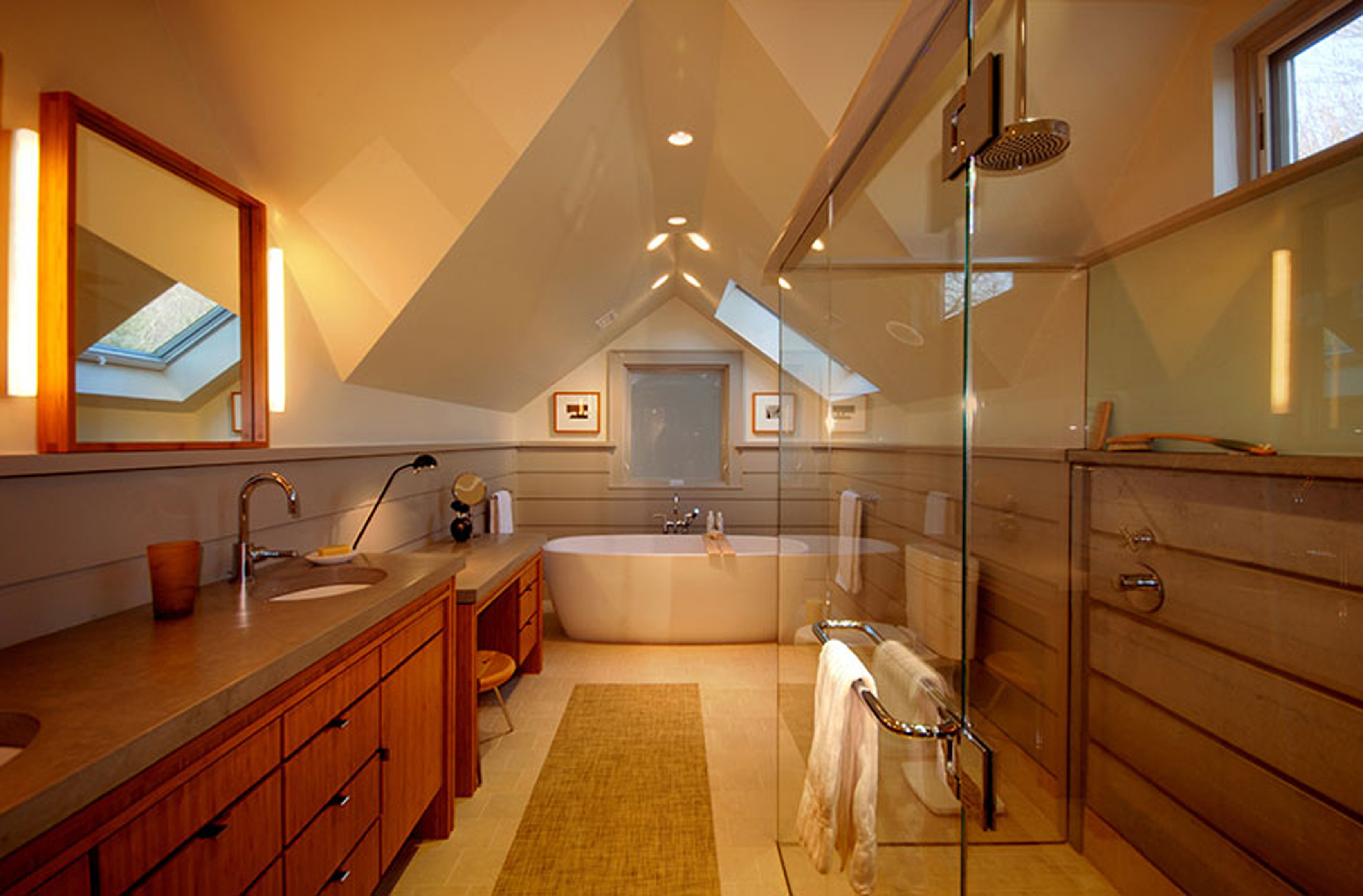 Studio InSitu - Attic bathroom suite