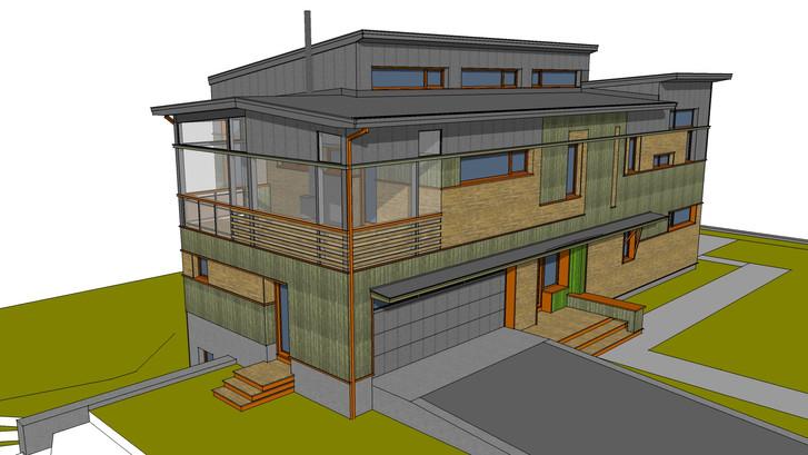 Passive House on Sudbury River