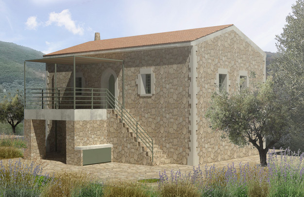 Stone House in Mani