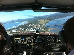 Airview on approach Merimbula.JPG