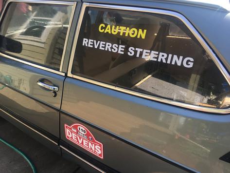 Reverse Steering Car Prep