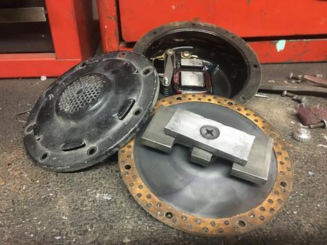 SAAB 96 Horn Fix