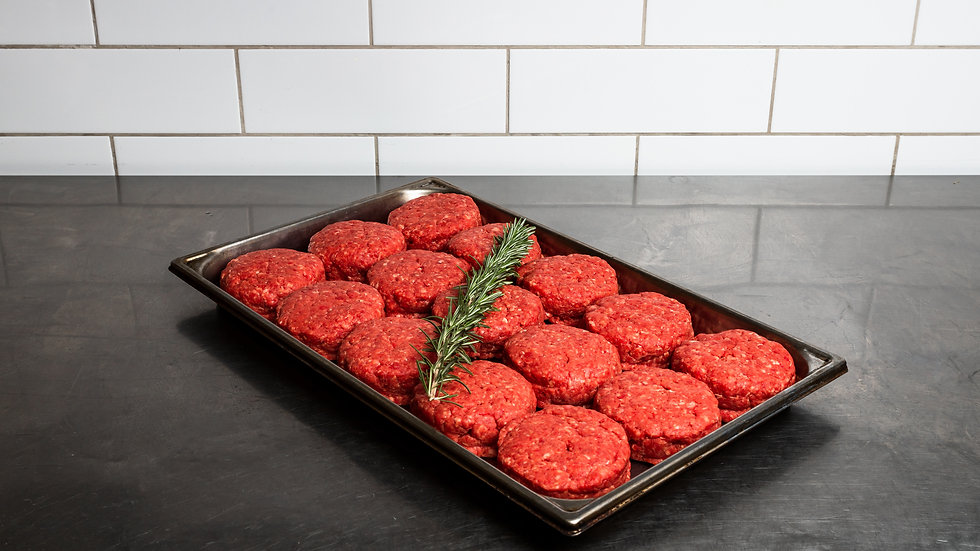 6 X 200GM BBQ BEEF BURGER PATTIES