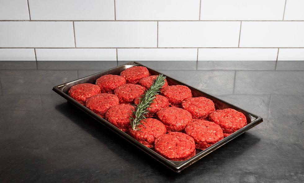 6 X 200GM BBQ BEEF BURGER PATTIES